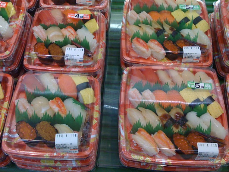 yummy supermarket sushi