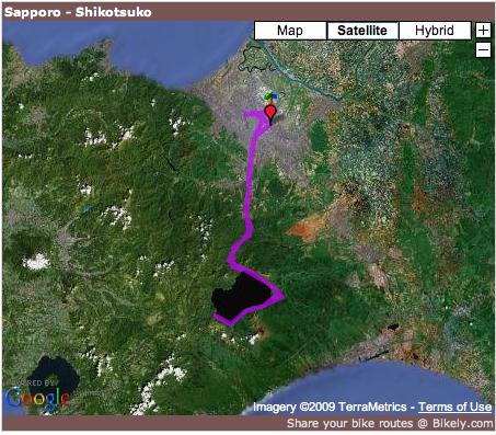 Sapporo - Shikotsuko. Click for more detail.