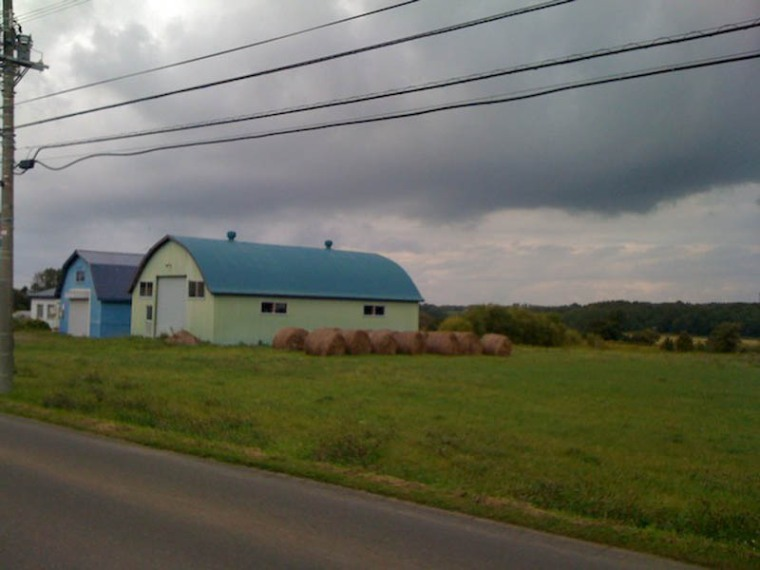 More farmland, this time with clouds.