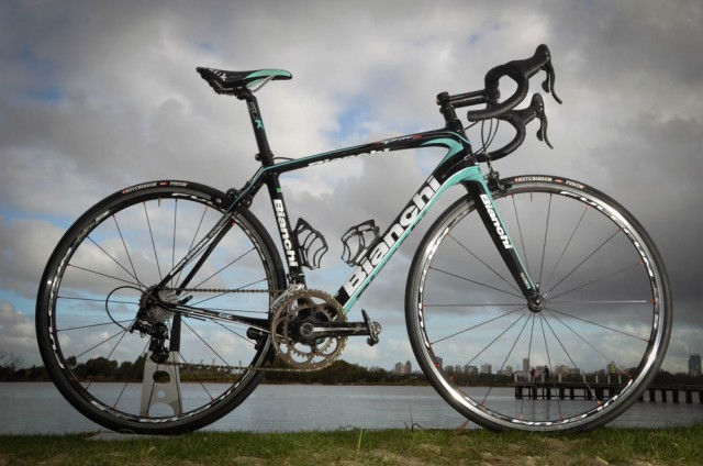 Bianchi Infinito CV 2014: The most comfortable bike you will ever ride.